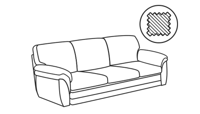 Тканевые диваны